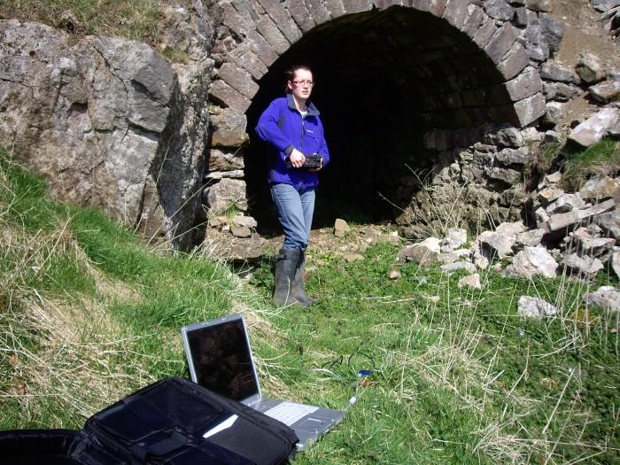 Alum Scar and Kiln data logging 2 April 09 029