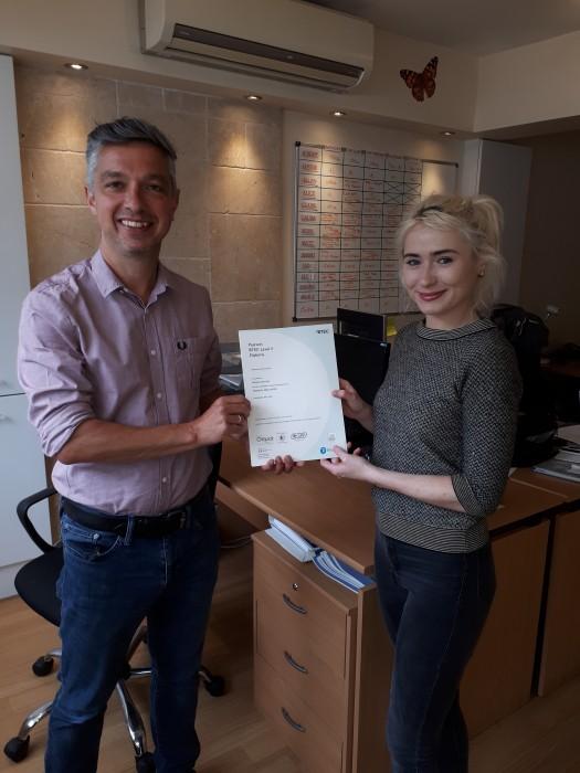 paisley certificate